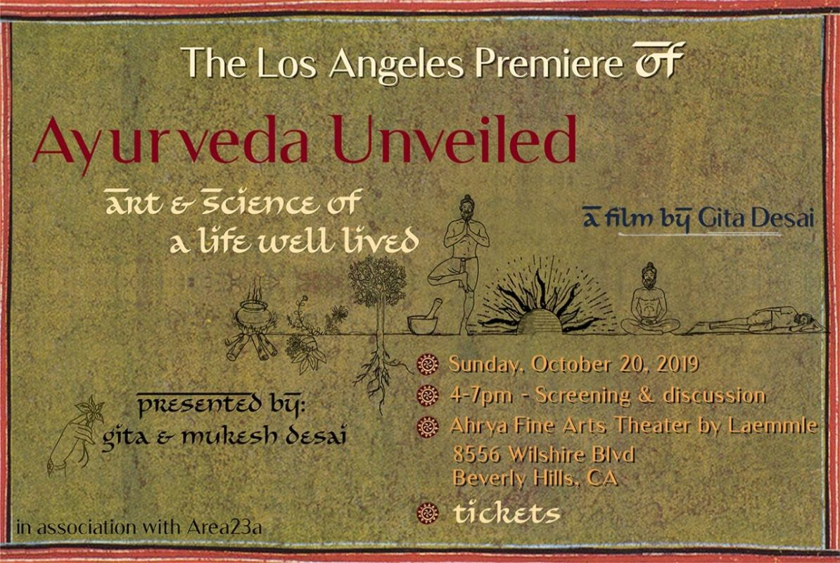 Ayurveda Unveiled – art & science of a life well lived